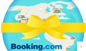 2015 Booking.com - custom corporate holiday ecard thumbnail
