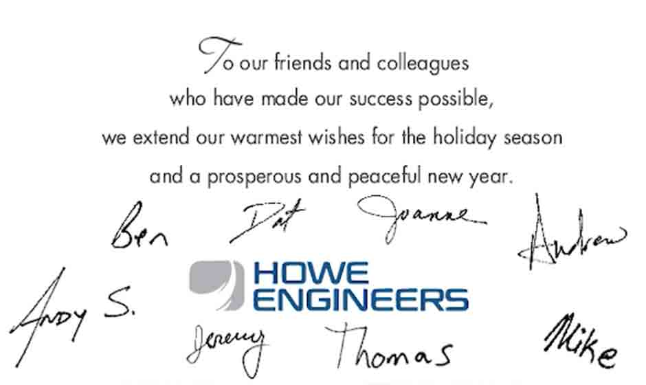 Signatures written animation corporate holiday ecard thumbnail
