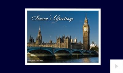 postcard corporate holiday ecard thumbnail