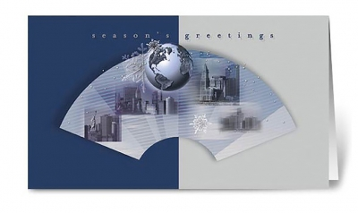 geo greetings corporate holiday greeting card thumbnail