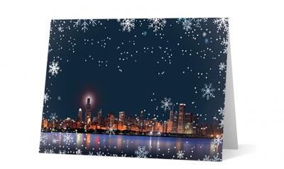 marshall gerstein custom corporate holiday greeting card thumbnail