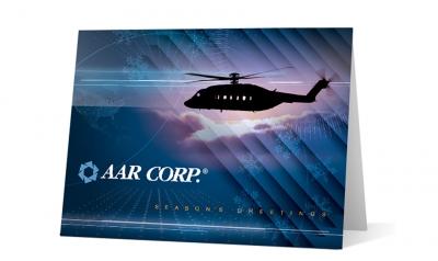 AAR CORP - corporate holiday greeting card thumbnail