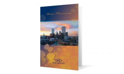GHP Financial group corporate holiday greeting card thumbnail