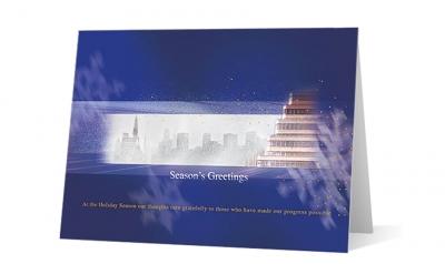 Hahn Hessen corporate holiday greeting card thumbnail