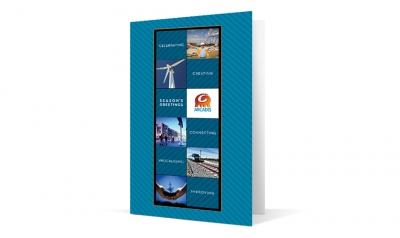 Arcadis corporate holiday greeting card thumbnail