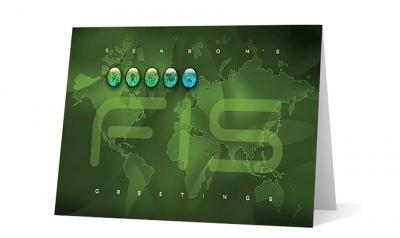 FIS - corporate holiday greeting card thumbnail