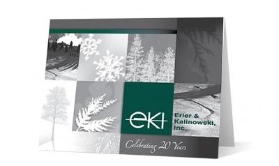 erler kalinowski -winter moments corporate holiday greeting card thumbnail
