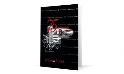 Stark Stark corporate holiday greeting card thumbnail