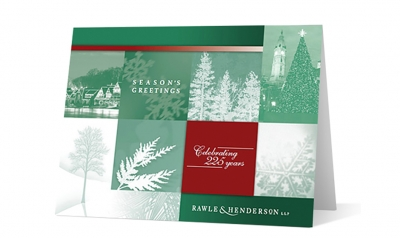 Rawle Henderson - winter moments corporate holiday greeting card thumbnail