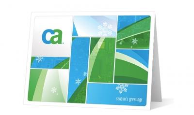 CA corporate holiday greeting card thumbnail