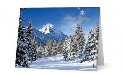 plasser american corporate holiday greeting card thumbnail