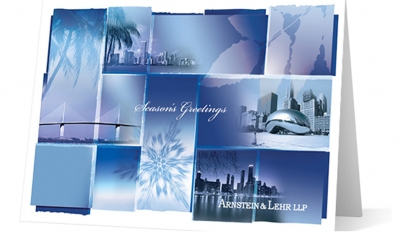 Arnstein Lehr corporate holiday greeting card thumbnail