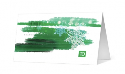 TD Canada Trust corporate holiday greeting card thumbnail