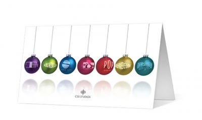 CSS Studios - pendulum corporate holiday greeting card thumbnail