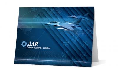 AAR corporate holiday greeting card thumbnail