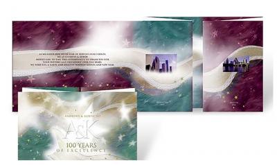 Andrews Kurth corporate holiday greeting card thumbnail