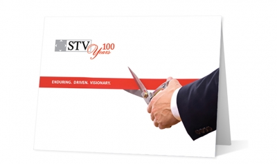 STV corporate holiday greeting card thumbnail