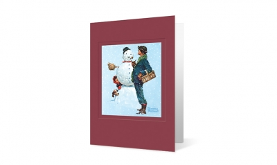 Booz Allen corporate holiday greeting card thumbnail