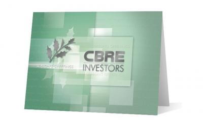 CBRE - corporate holiday greeting card thumbnail