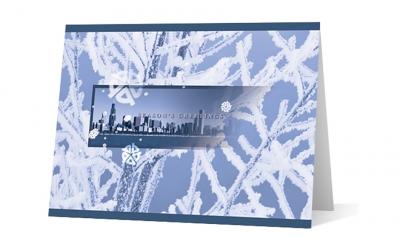 Bruss corporate holiday greeting card thumbnail