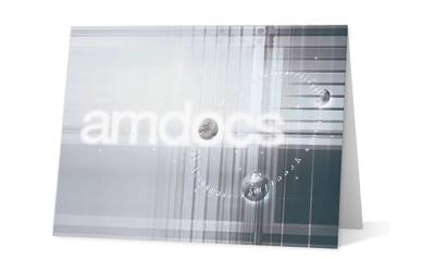 Amdocs corporate holiday greeting card thumbnail