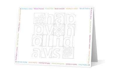 Dechert - merriment corporate holiday greeting card thumbnail