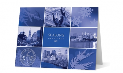 winter moments corporate holiday greeting card thumbnail