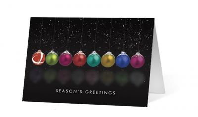 Berger ABAM - pendulum corporate holiday greeting card thumbnail