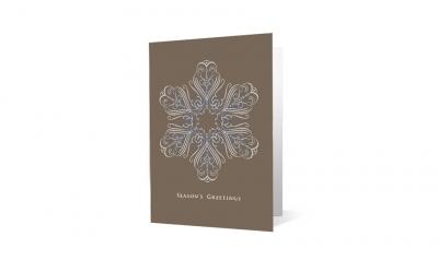 Stoel Rives corporate holiday greeting card thumbnail