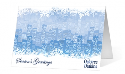 ogletree deakins corporate holiday greeting card thumbnail