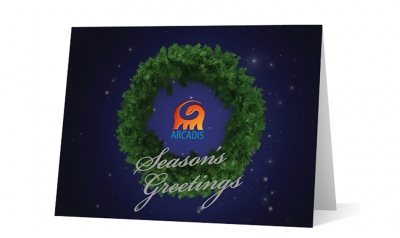 arcadis corporate holiday greeting card thumbnail