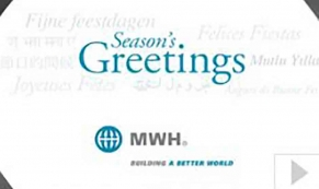 MWH corporate holiday ecard thumbnail