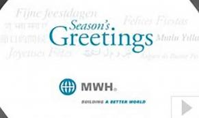 MWH corporate holiday ecard thumbnail