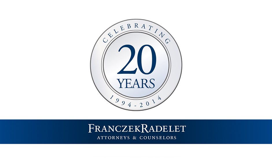 franczek Radelet logo animation corporate holiday ecard thumbnail