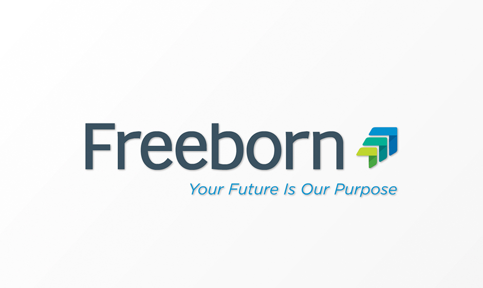 Freeborn logo animation corporate holiday ecard thumbnail