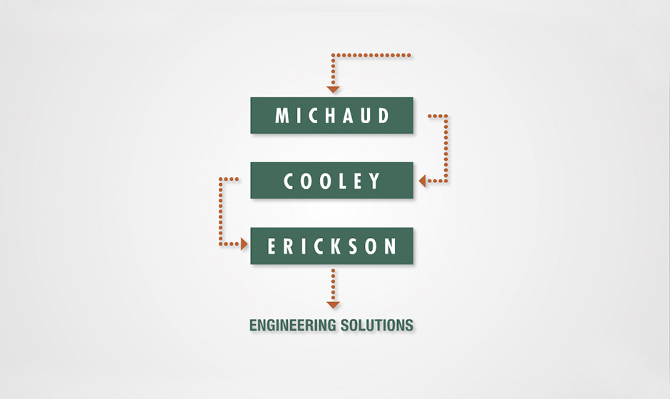 Michaud Cooley Erickson logo animation corporate holiday ecard thumbnail