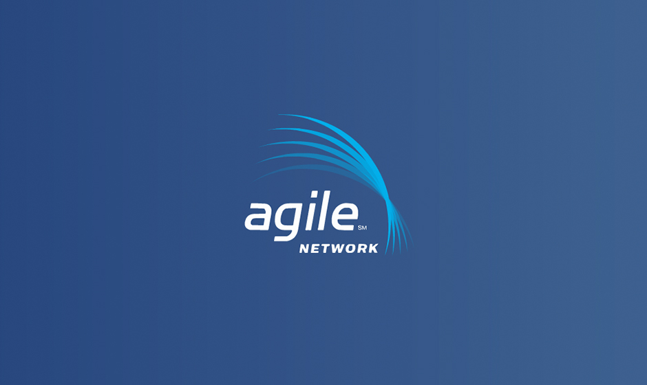Agile Network logo animation corporate holiday ecard thumbnail