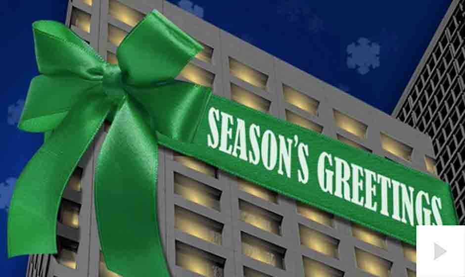CBRE Clarion corporate holiday ecard thumbnail