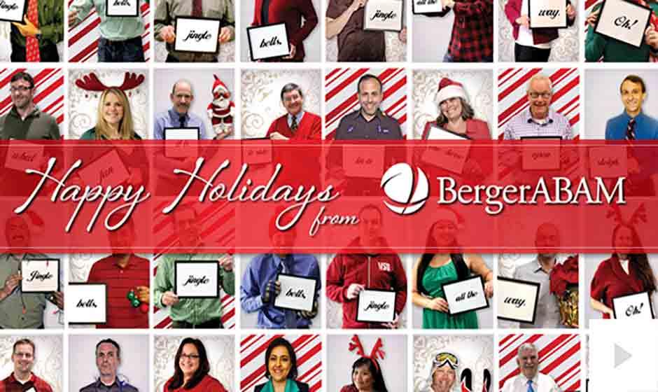 Berger ABAM corporate holiday ecard thumbnail