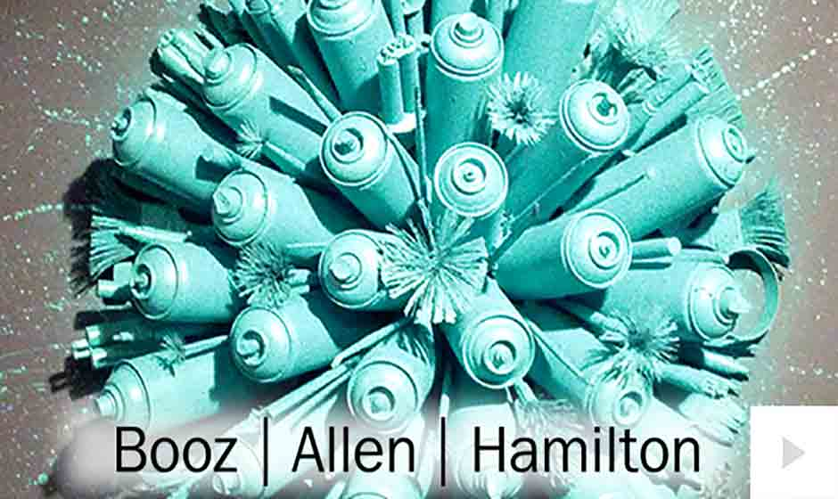 Booz Allen - corporate holiday ecard thumbnail