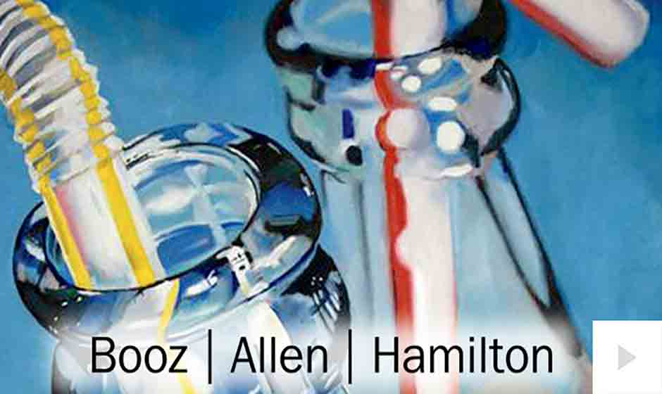 Booz Allen corporate holiday ecard thumbnail