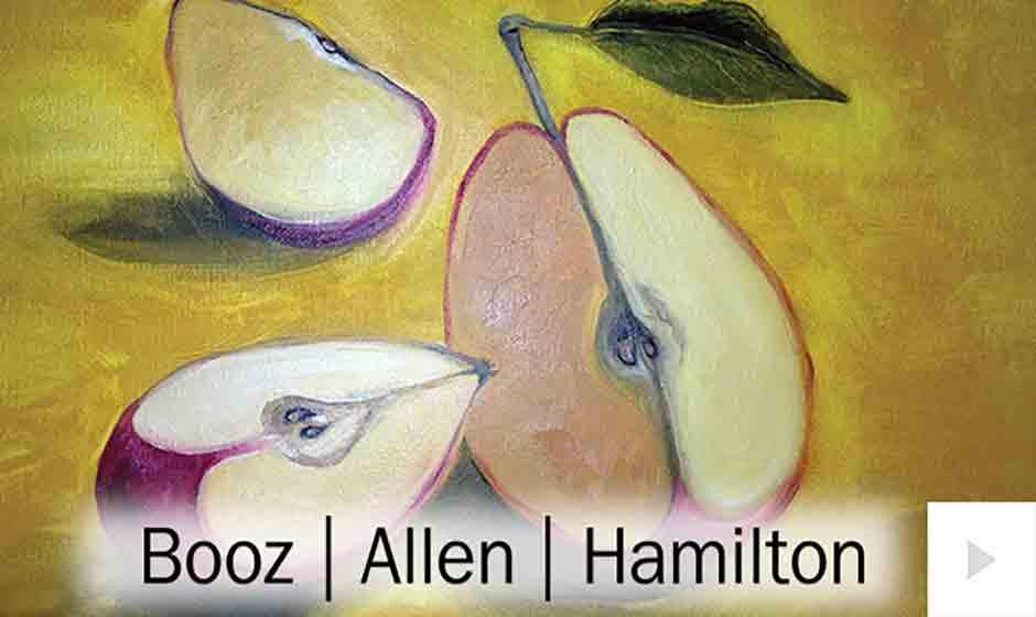 Booz Allen corporate holiday ecard thumbnail