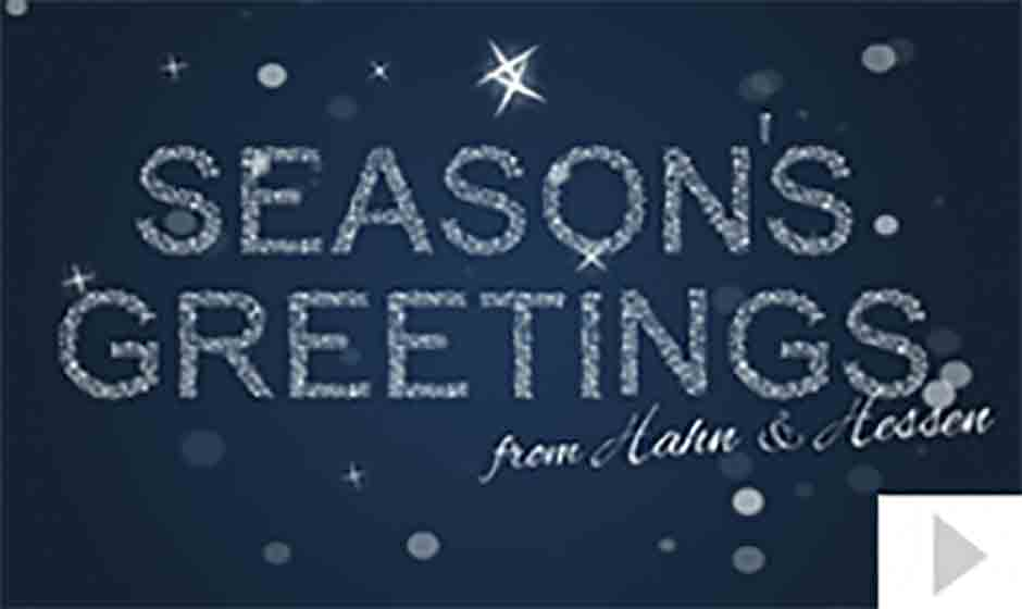 Hahn Hessen corporate holiday ecard thumbnail