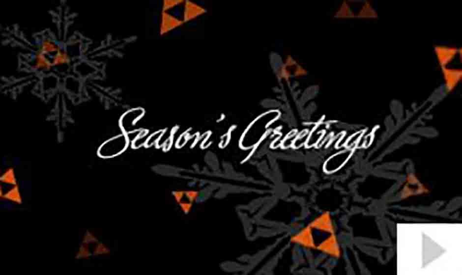 Benesch corporate holiday ecard thumbnail
