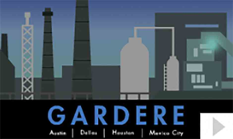 Gardere corporate holiday ecard thumbnail