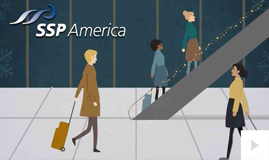 SSP America corporate holiday ecard thumbnail