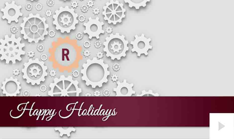Rembrandt corporate holiday ecard thumbnail