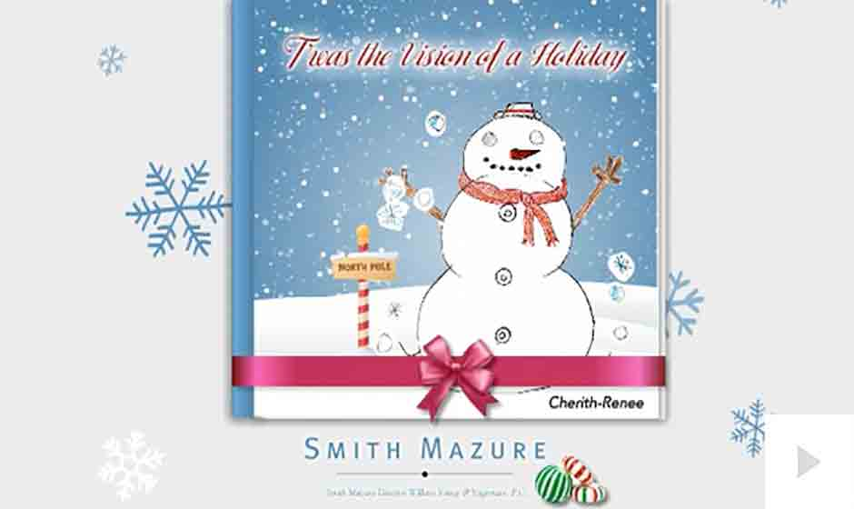 Smith Mazure corporate holiday ecard thumbnail