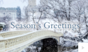 Winter is Coming bridge Holiday e-card thumbnail