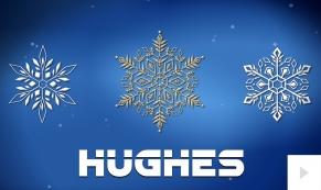 2016 Hughes - custom corporate holiday ecard thumbnail